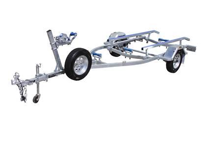 5mt SingleAxle Boat Trailer-Skid 750kg ATM