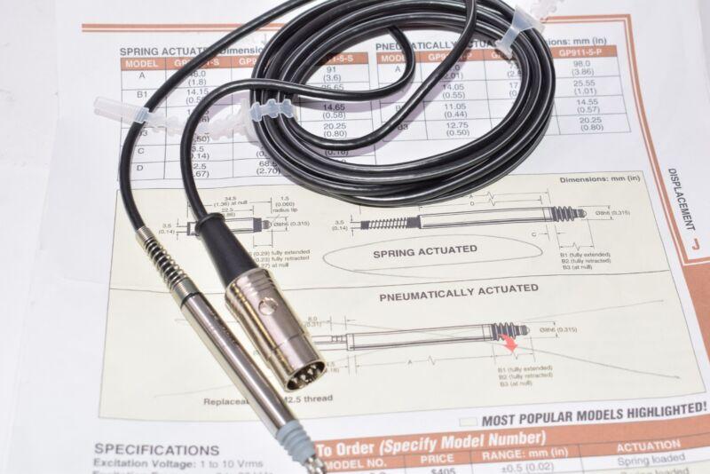 Moore Part: 13820-2, 115087, Linear Transducer Gage Probe Sensor