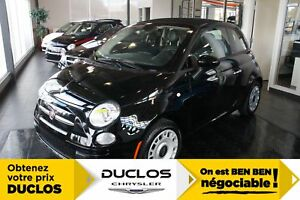 2017 Fiat 500C Pop*CABRIOLET*BLUETOOTH*A/C*