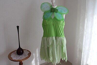 Tinker Bell Kostüm Kleid und Flügel Gr S-M Kostümfest Mottoparty Karneval