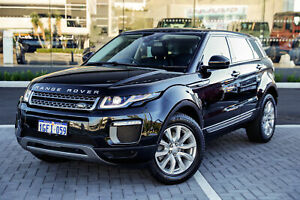2016 Land Rover Range Rover Evoque L538 MY17 TD4 150 SE Black 9 Speed Sports Automatic Wagon Osborne Park Stirling Area Preview