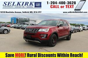 2017 Ford Explorer XLT *HEATED SEATS, BACK-UP CAM*