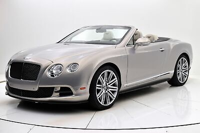 2014 Bentley Continental GT Convertible 2014 Bentley Continental GT Speed, One Owner, Carbon Ceramic Brakes 26,972 Miles
