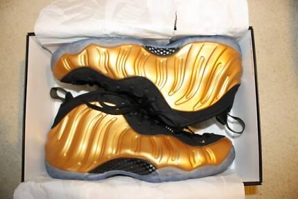 Nike Foamposite One Metallic Gold US 13