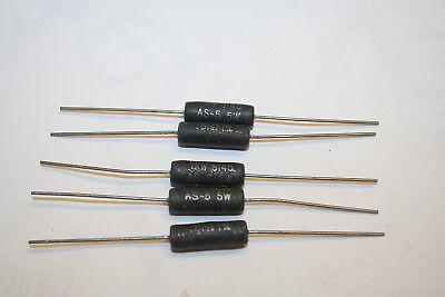 0.51 Ohm 1 5 Watt Resistors Wirewound Power Trw Nos Qty10 Made In Usa