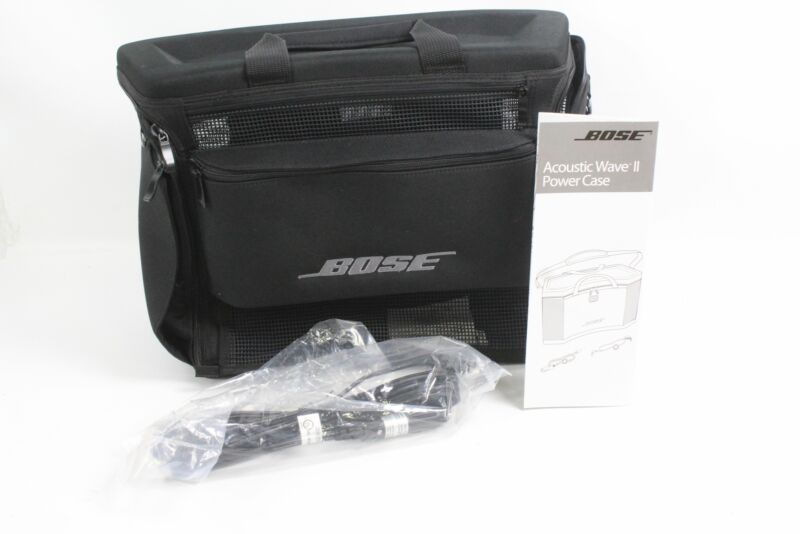 BOSE Acoustic Wave II Power Zip Case & Accessories