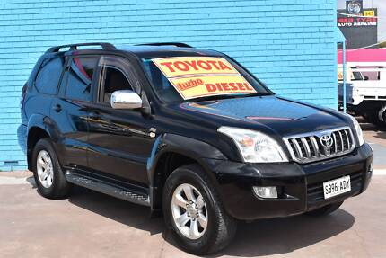 2008 Toyota LandCruiser Wagon-  PRADO TURBO DIESEL 6sp D4D Enfield Port Adelaide Area Preview
