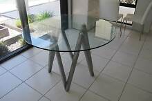 Scandinavian Style Luxury Round Glass Top Table Buderim Maroochydore Area Preview
