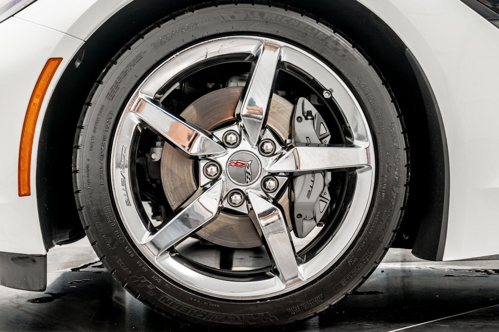 2015 White Chevrolet Corvette Convertible 3LT   C7 Corvette Photo 9