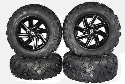 "MASSFX SL 26"" Wheel & Tire Kit For Polaris Ranger 900XP W/ Sedona Chopper Rim"