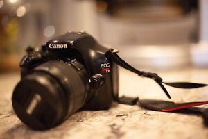 Canon Rebel T3 with EF 18-55mm lens