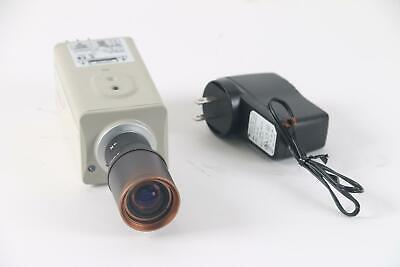 Speco Cvc-865dn24 580 Line High Resolution Color Camera W2.8-12mm 13 Lens