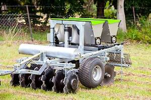 6-IN-1 Dual-Box Seeder | Tillage & Seeding | Pasture Seeder Warana Maroochydore Area Preview