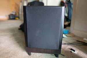 3 Speaker and 10 inch Active Subwoofer Set Meadowbank Ryde Area Preview