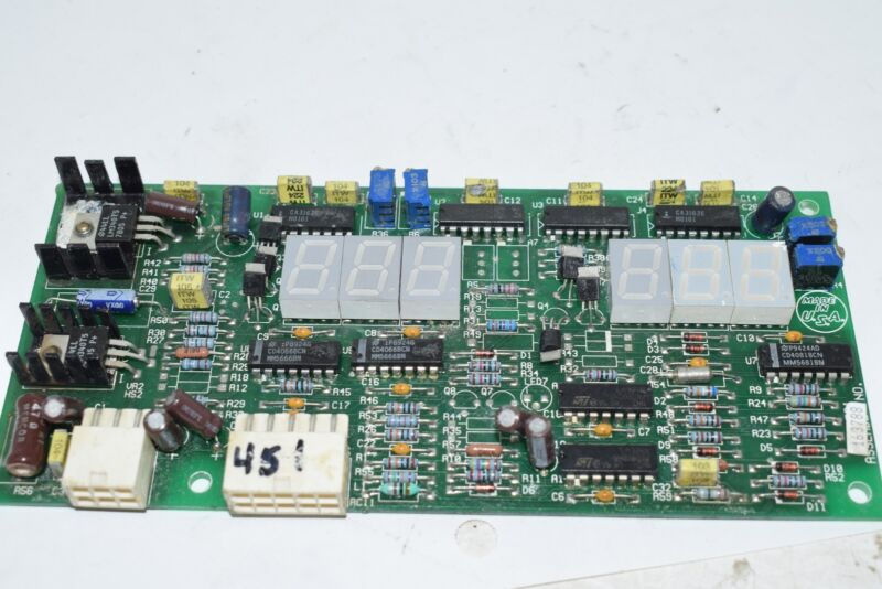 Miller Electric - 163788 - CIRCUIT CARD ASSY, DIGITAL METER PCB Board Module