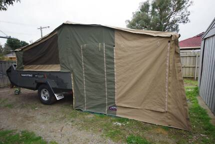 Tanami rear fold soft floor camper trailer Somerville Mornington Peninsula Preview