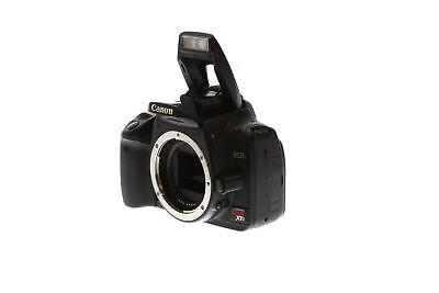 Canon EOS Rebel XTI Black Digital SLR Camera Body {10.1 M/P} - BG