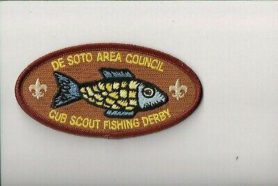 2014 De Soto Area Council Cub Scout Fishing Derby patch