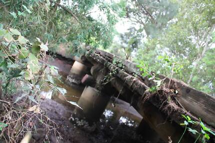 Premium Harwood timber Bridge Timber Byron Bay Byron Area Preview