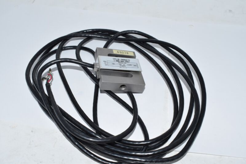NEW Taylor 60050-100 S Type Load Cell 60050 Sensor