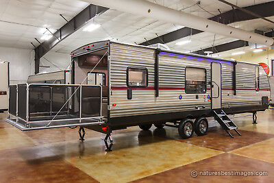 New 2018 294RR Circumscribed Lite Lightweight Toy Hauler Travel Trailer For Sale
