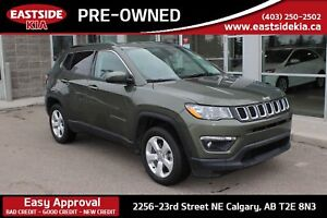 2018 Jeep Compass NORTH 4WD CAMERA HEATED SEATS BLUE TOOTH AC