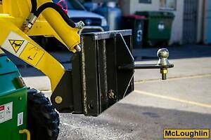 New McLoughlin Tow Ball Attachment Suit Mini Loaders Coopers Plains Brisbane South West Preview
