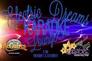 Electric Dreams Karaoke Lounge @ McGuires CBD Hotel Mackay Mackay City Preview