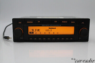 Becker Indianapolis BE7920 MP3 Navigationssystem CD Autoradio AUX-IN Navi GS75