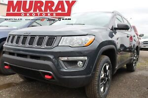 2018 Jeep Compass Trailhawk * UCONNECT! HEATED SEATS! REMOTE STA