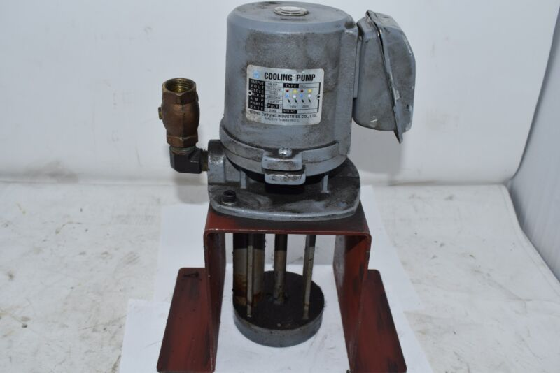 Yeong Chyung Coolant Pump Suction YC- 1/8 HP 110/220V 2850 RPM 2 Pole 1 Phase
