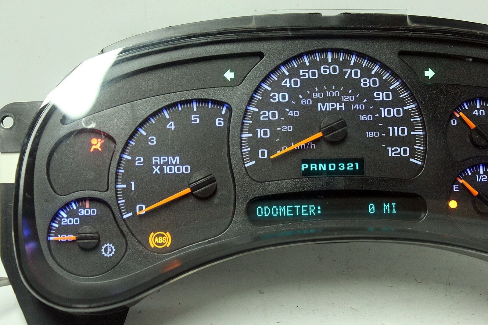 Silverado 2003 chevy silverado dash cluster : Used GMC Yukon XL 2500 Instrument Clusters for Sale - Page 9