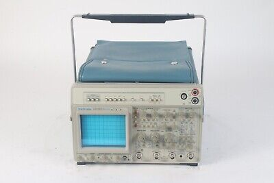 Tektronix 2465bdv 400 Mhz 4-channel Oscilloscope With Power Cable