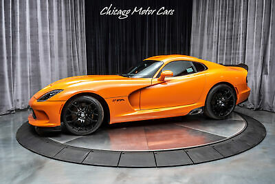 2014 Dodge SRT Viper T/A Coupe 1ST ORANGE VIPER T/A PRODUCED! VIN #001! Onl 2014 Dodge SRT Viper T/A Coupe 1ST ORANGE VIPER T/A PRODUCED! VIN #001! Onl TA O