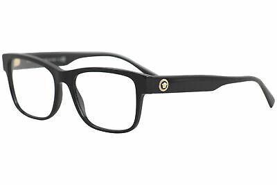Versace Men's Eyeglasses VE3266 VE/3266 GB1 Black/Gold Optical Frame 53mm