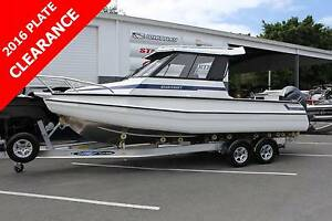 STABICRAFT 2400 SUPERCAB + YAMAHA 200HP FOUR STROKE + DUNBIER TRL Boondall Brisbane North East Preview