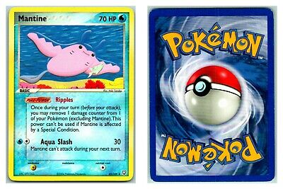 Mantine 45/109 Team Rocket Returns Pokemon Card P Condition