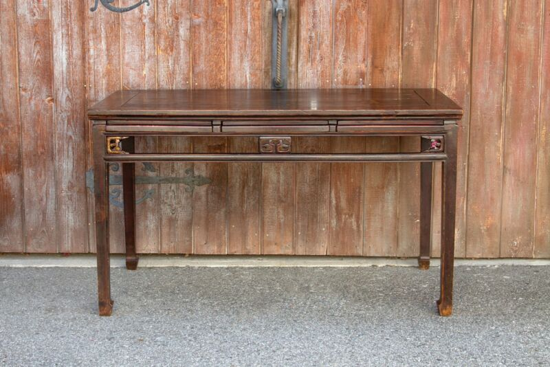 Qing Dynasty Writing Table