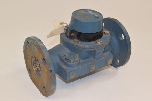 "Badger 2"" Brass Water Flow Meter Badgermeter"
