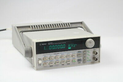 Hpagilent 33120a Function Arbitrary Waveform Generator 15 Mhz 3