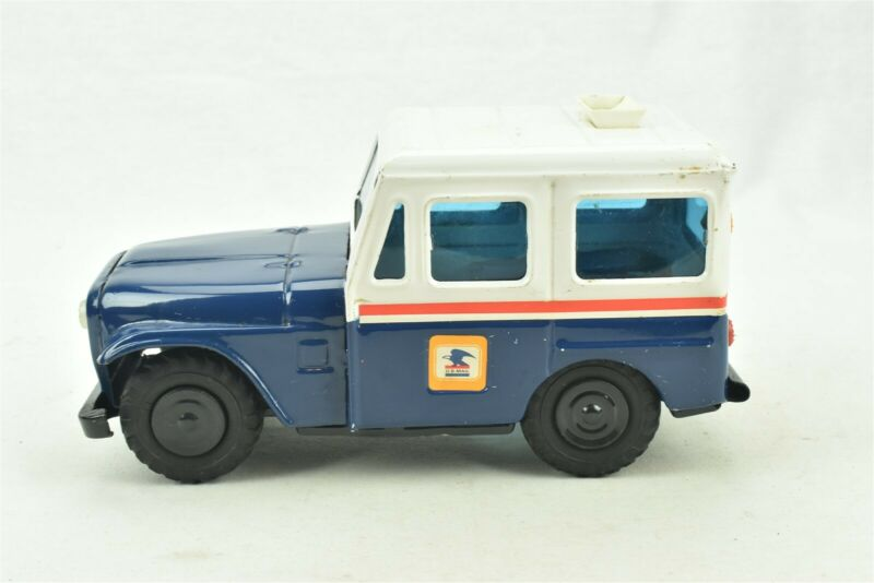 USPS US Mail Postal Delivery Truck Jeep Bank Western Stamping Corp Steel