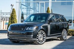 2018 Land Rover Range Rover 5.0L V8 Supercharged Clean Carproof