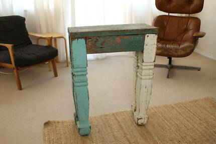 Rustic Timber Side Table