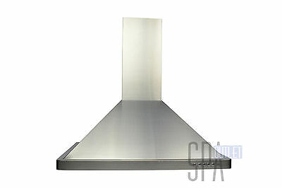 """30"""" Stainless Steel Wall Range Hoods Mount Kitchen Vent w/ Free Charcoal Filter"""