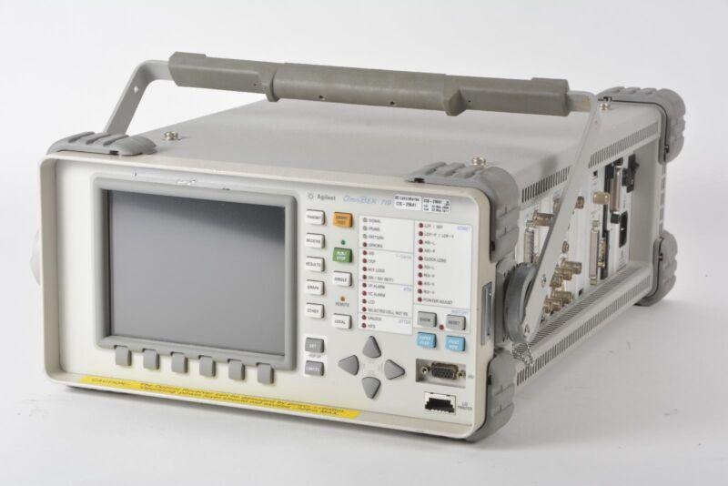 Agilent Keysight 37719C OmniBER 719 Communications Performance Analyzer +Options