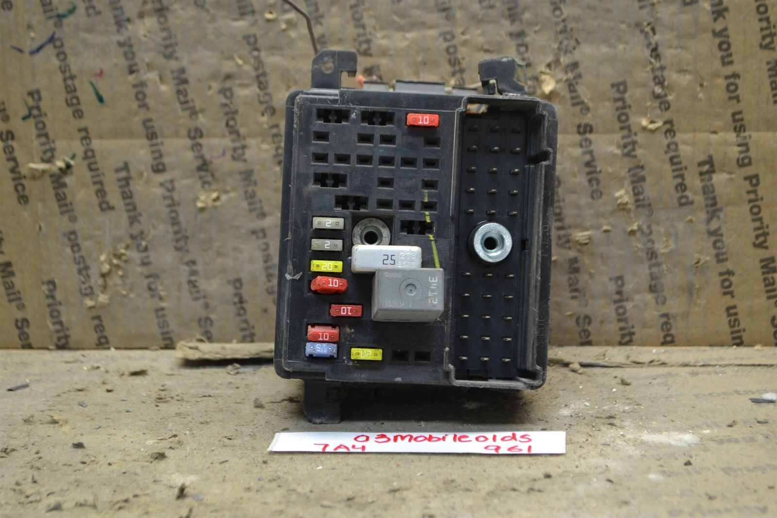 Used Oldsmobile Computers Chips Cruise Control And Related Parts 2004 Alero Fuse Box 2001 Right Side Junction 22697019 Module 961 7a4