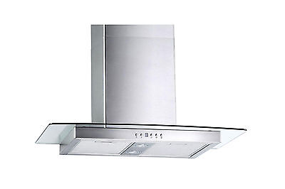 """30"""" Stainless Steel Wall Range Hoods Mount Kitchen Ventilation 3 Speed Fan"""