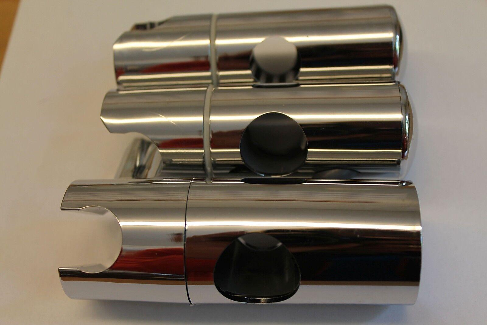 zur wahl universal gleiter schieber brausehalter f r wandstange von 18 25 mm eur 8 90. Black Bedroom Furniture Sets. Home Design Ideas