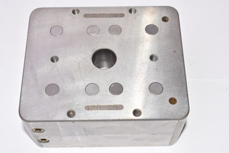 Injection Mold Plate, 848-00-15, 420 SS, H13, 5-1/4