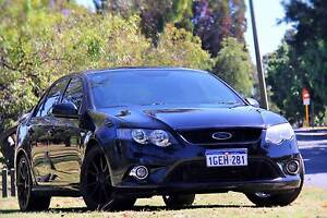 2010 Ford Falcon XR6 FG black 4 Speed Sports Automatic Sedan Carlisle Victoria Park Area Preview